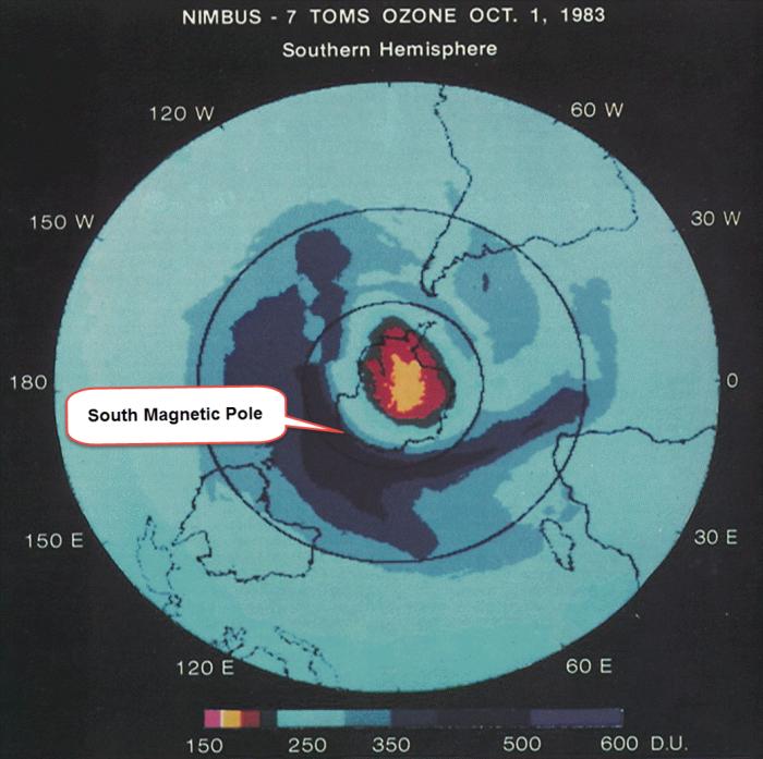 southern hemisphere ozone hole nasa presentation